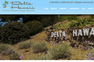 55+ community in Pittsburg CA website launched
