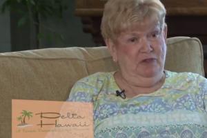 Making Friends at Delta Hawaii video testimonial