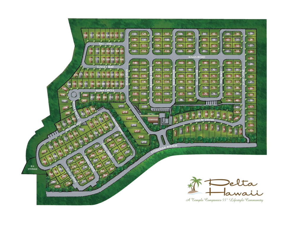 Delta Hawaii site plan