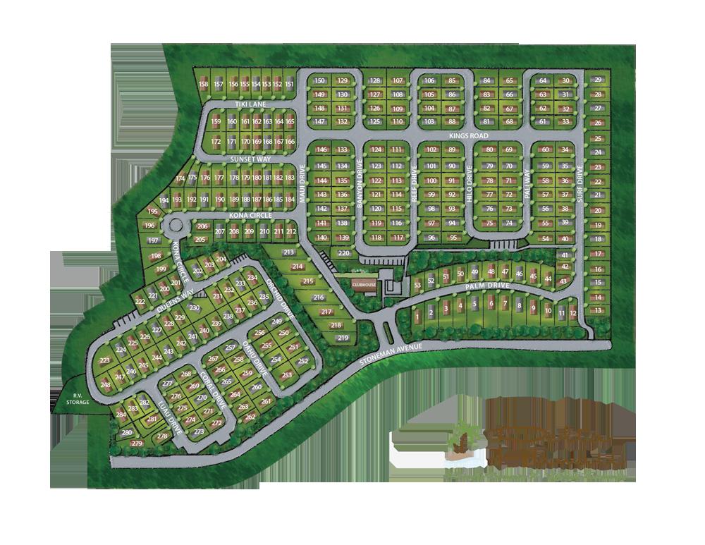 Delta Hawaii site plan