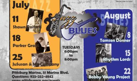 Jazz and Blues Music in the Park