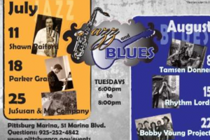 Jazz and Blues Music in the Park Pittsburg Marina