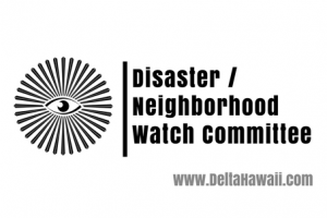 Disaster/ Neighborhood Watch Committee