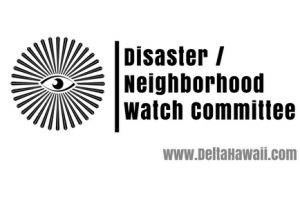 Disaster Neighborhood Watch