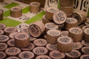 Bingo Wood Toggles