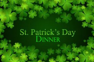 St. Patricks Day Dinner