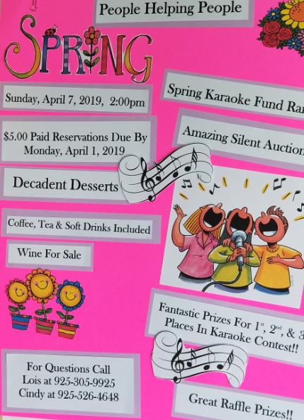 Spring Karaoke Fundraiser - Delta Hawaii